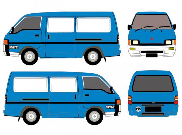Van - Full Wrap