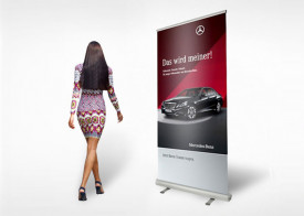 Roll-Up Banner 85 x 200 cm