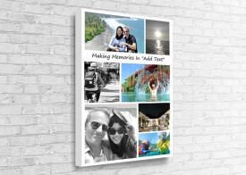Collage Canvas - 7 Photos Holiday