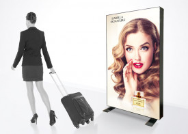 LED Light box Free Standing - 6' x 4' (Double-Sided)