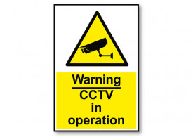 CCTV Sign - 5x10inch
