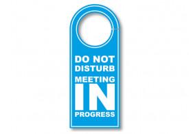 Do Not Disturb Sign - 4x10inch