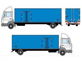 truck sticker wrap 10tun