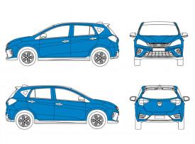Car Medium Size - Full Wrap