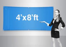 Banner 4x8 Feet