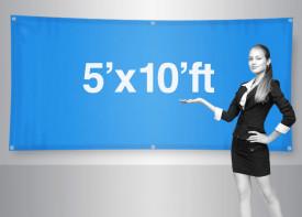 Banner 5x10 Feet
