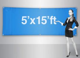 Banner 5x15 Feet