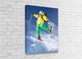 Canvas Print (Wood) - Portrait