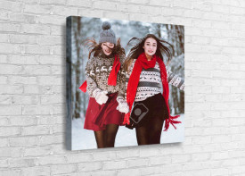Canvas Print Square - Image Wrap