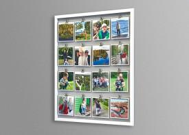 """Square Prints + Clip Frame  24""""x 28"""""""
