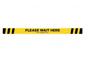 Social Distancing Floor Sticker - 1.5x20inch