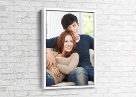 Canvas + Floater Frame Portrait