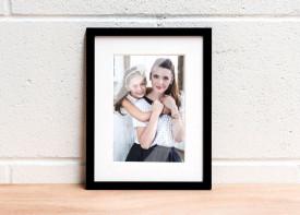Framed Print. (Premium)