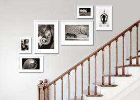 """Gallery Wall Staircase - 51""""x 72"""""""