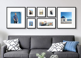 """Gallery Wall - 24""""x 77"""""""