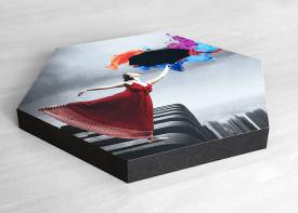 Canvas Print - Hexagon