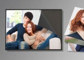 1 Magnetic Frame + 3 Easy Fix Prints - Landscape Sizes