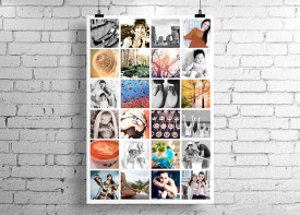 Poster Collage - 24 Photos
