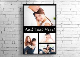 Poster Collage - 4 Photos