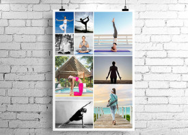 Poster Collage - 9 Photos
