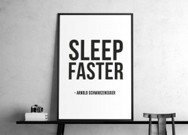 """""Sleep faster"""