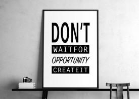 """""""Don't wait.."""""""