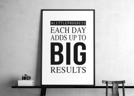 """""""Each day adds up.."""""""