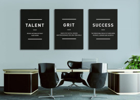"""""""Grit Talent Success"""""""