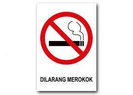 """24""""x 35"""" (60 x 90 cm)  No Smoking Sign - PVC Board 3mm"""