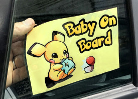 Car Windscreen Sticker