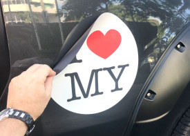 Car Magnet Sticker