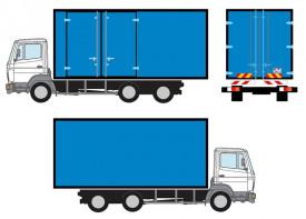 Box Truck 3 ton - Full Wrap