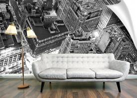 Korean Textured Wallpaper -  Size 120cm x 120cm